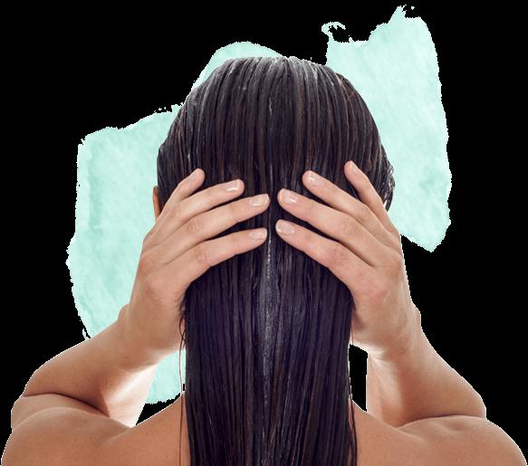 Balsamera håret